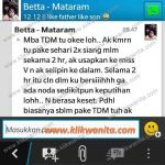 Testimony TDM – Ibu Betta (Mataram)