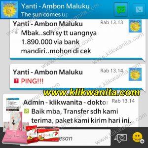 Transfer Yanti Ambon
