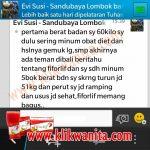 Testimoni Fiforlif – Ibu Evi Susilowati (Lombok)